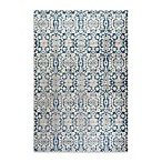 Safavieh Sofia Collection Damask 5-Foot 1-Inch x 7-Foot 7-Inch Area Rug in Blue