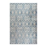 Safavieh Sofia Collection Damask 9-Foot x 12-Foot Area Rug in Blue