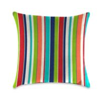 Outdoor Throw Pillow in Sunbrella® Carousel Confetti