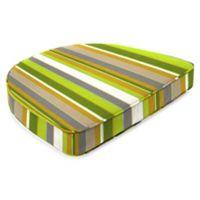 19.5-Inch x 19.5-Inch Dining Chair Cushion in Sunbrella® Carousel Limelight