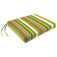 16.5-Inch x 17.5-Inch Dining Chair Cushion in Sunbrella® Carousel Limelight (Set of 2)