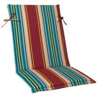 Sling Back Cushion in Modern Stripe
