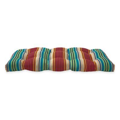 Sette Chair Cushion In Modern Stripe
