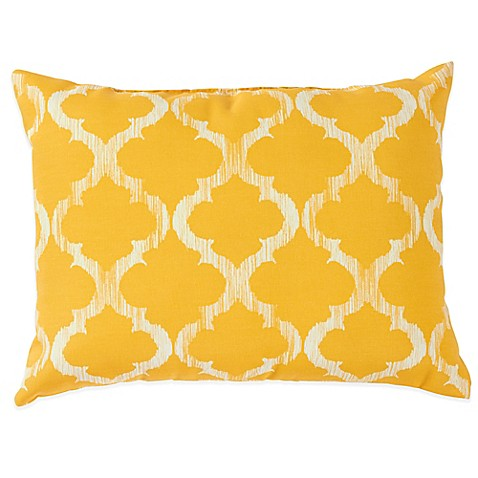 Enhance Outdoor Throw Pillows in Yellow - Bed Bath & Beyond
