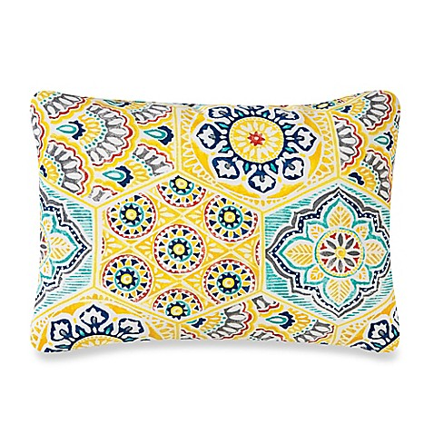 Kennett Outdoor Throw Pillows in Yellow - Bed Bath & Beyond