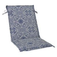 Tachenda Sling Back Chair Cushion in Indigo