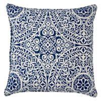 Tachenda Outdoor 20-Inch Throw Pillow in Indigo