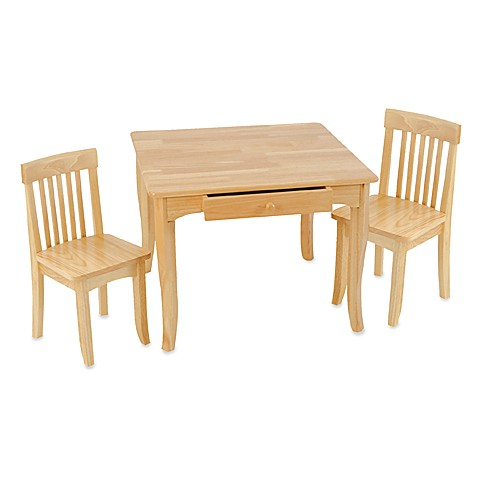 Kidkraft 174 Avalon Natural Table And Chairs Set Buybuy Baby