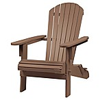 Westerly Adirondack Folding Chair in Acacia