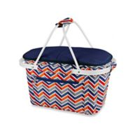 Picnic Time® Market Basket Collapsible Tote in Multi