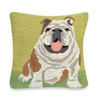 Liora Manne Frontporch Wet Kiss Square Throw Pillow in Green