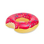 Giant Donut Inflatable Strawberry Frosted Donut with Sprinkles Pool Float