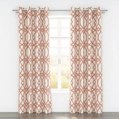 Buy Coral Colored Window Treatments From Bed Bath Amp Beyond