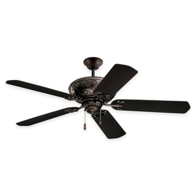 Buy outdoor ceiling fans and light from bed bath beyond emerson devonshire 52 inch single light indooroutdoor ceiling fan in oil rubbed workwithnaturefo