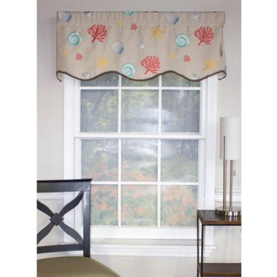 buy sand window valance from bed bath & beyond