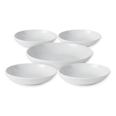 Gordon Ramsay by Royal Doulton® Maze 5-Piece Pasta Set in White  sc 1 st  Bed Bath u0026 Beyond & Buy Gordon Ramsay Dinnerware from Bed Bath u0026 Beyond