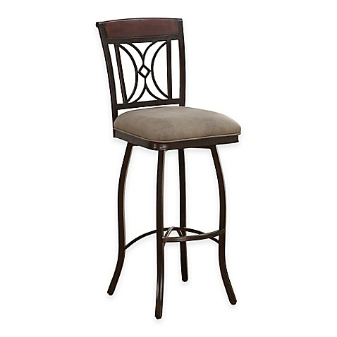 American Heritage Eden Swivel Bar Stool Bed Bath Amp Beyond
