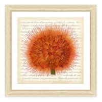 Framed Giclee Red Bouquet Botanical Print Wall Art I