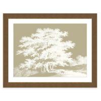 Framed Giclee Sepia Trees Print Wall Art II