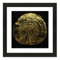 Framed Giclee Tree Ring Print Wall Art II
