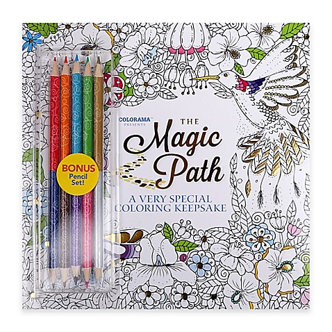 Colorama™ The Magic Path Keepsake Coloring Book with Colored ...