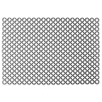 InterDesign® Stari Large Sink Mat in Graphite