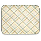 Plaid Dish Drying Mat