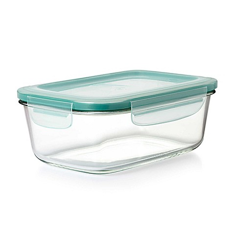Oxo Good Grips 174 Rectangle Glass Snap Container Bed Bath