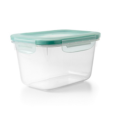 Oxo good grips snap plastic food storage container bed - Plastic bathroom storage containers ...