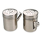 RSVP Stainless Steel Salt & Pepper Shakers