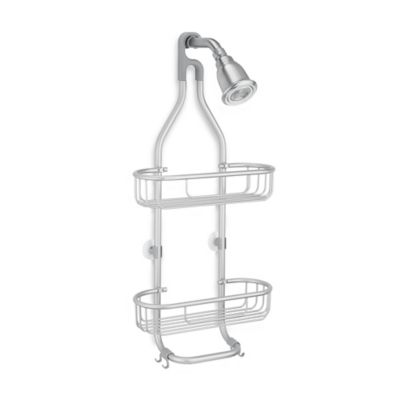 Attirant InterDesign® Aluminum Rustproof Shower Caddy