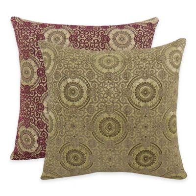 Arlee Decorative Body Pillow : Arlee Home Fashions Plinko Woven Medallion Square Throw Pillow (Set of 2) - Bed Bath & Beyond