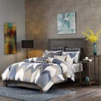 INK+IVY Alpine Full/Queen Mini Comforter Set in Navy