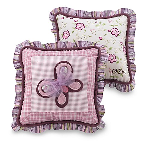 Newport Decorative Two Pack Pillows : CoCaLo Sugar Plum Decorative Pillows - 2-Pack - Bed Bath & Beyond