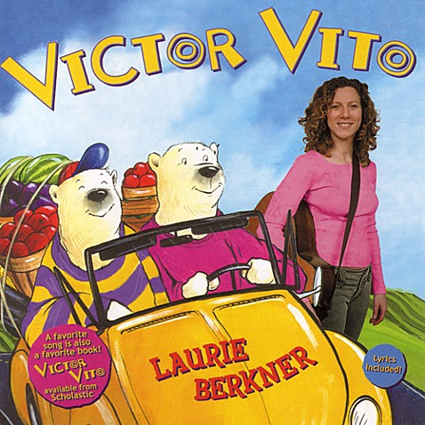 Victor Vito Music CD by Laurie Berkner
