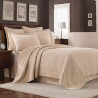 Williamsburg Abby Full Coverlet in Linen