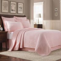 Williamsburg Abby Twin Coverlet in Shell