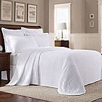 Williamsburg Abby King Bedspread in White