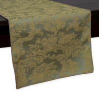 Miranda Damask 54-Inch Table Runner in Sage