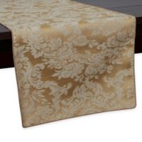 Miranda Damask 108-Inch Table Runner in Dijon