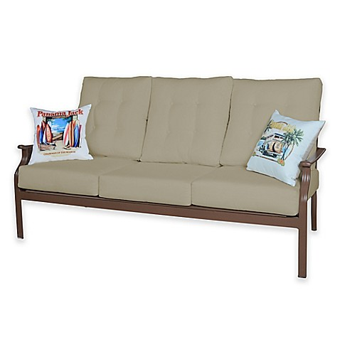 Panama jack island breeze deep seating sofa bed bath for Deep couches for sale