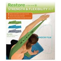 Gaiam® Restore Strength and Flexibility Resistance Band Kit