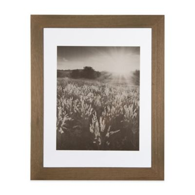 real simple 11 inch x 14 inch wood portrait frame in natural with