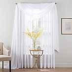 Smart Sheer™ 84-Inch Insulated Linen Voile Rod Pocket Sheer Window Curtain Panel in White