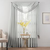 Smart Sheer™ Insulated Linen Voile Rod Pocket Sheer Window Curtain Panel