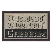 Gresham Coordinates Framed Giclée Wall Art