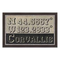 Corvallis Coordinates Framed Giclée Wall Art