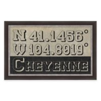 Framed Giclée Cheyenne Coordinates Print Wall Art