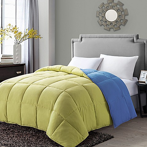 down alternative comforter vcny paradise reversible alternative comforter bed 31116