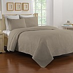 Nostalgia Home™ Saville King Bedspread in Taupe